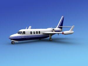 aircraft westwind iai 3ds