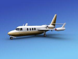 3d model aircraft westwind iai