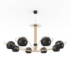 3d model neil suspension lamp