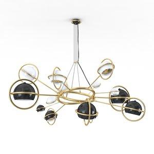 cosmo suspension lamp 3d model