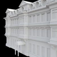 vintage building 3ds free