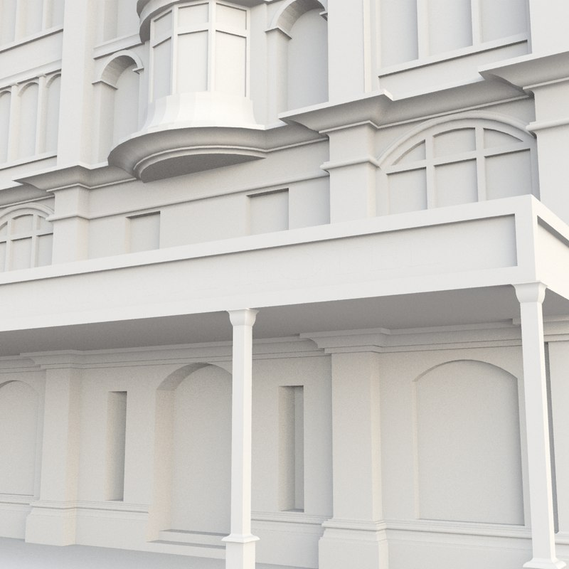 blend vintage building