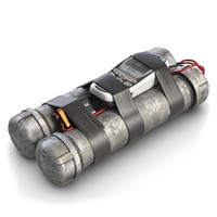 max tube bomb remote controlled