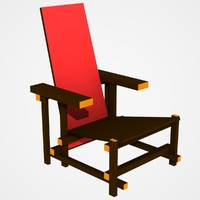 chair lightwave dxf