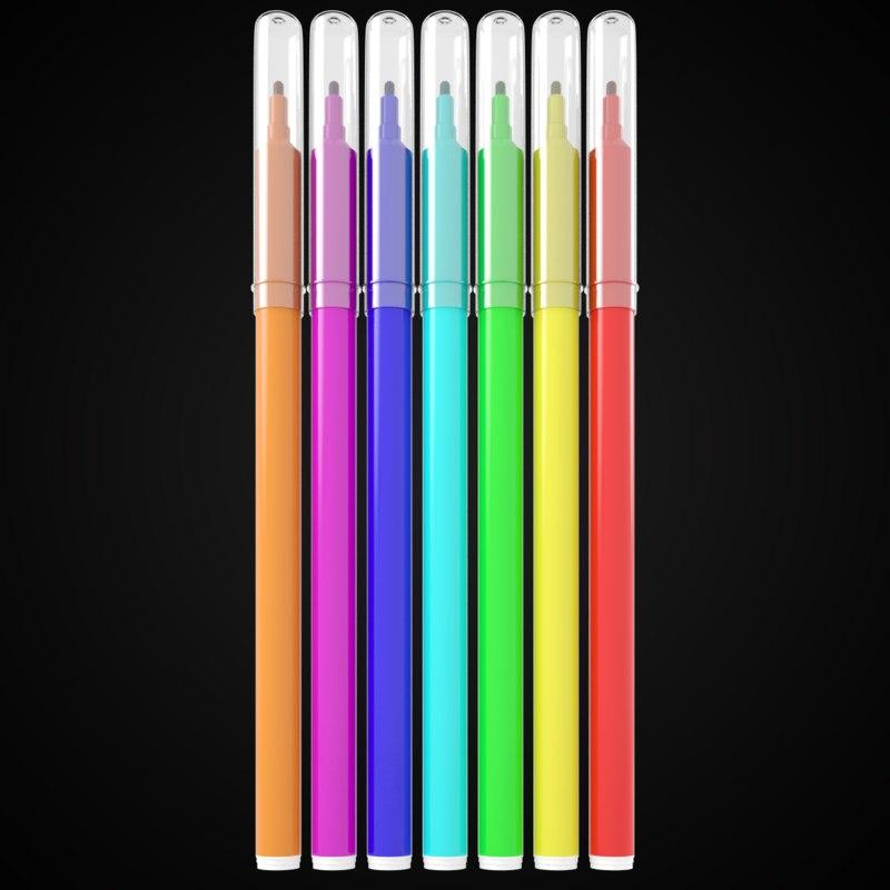 3d felt tip pen model