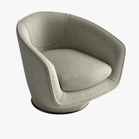 max u-turn swivel chair armchair
