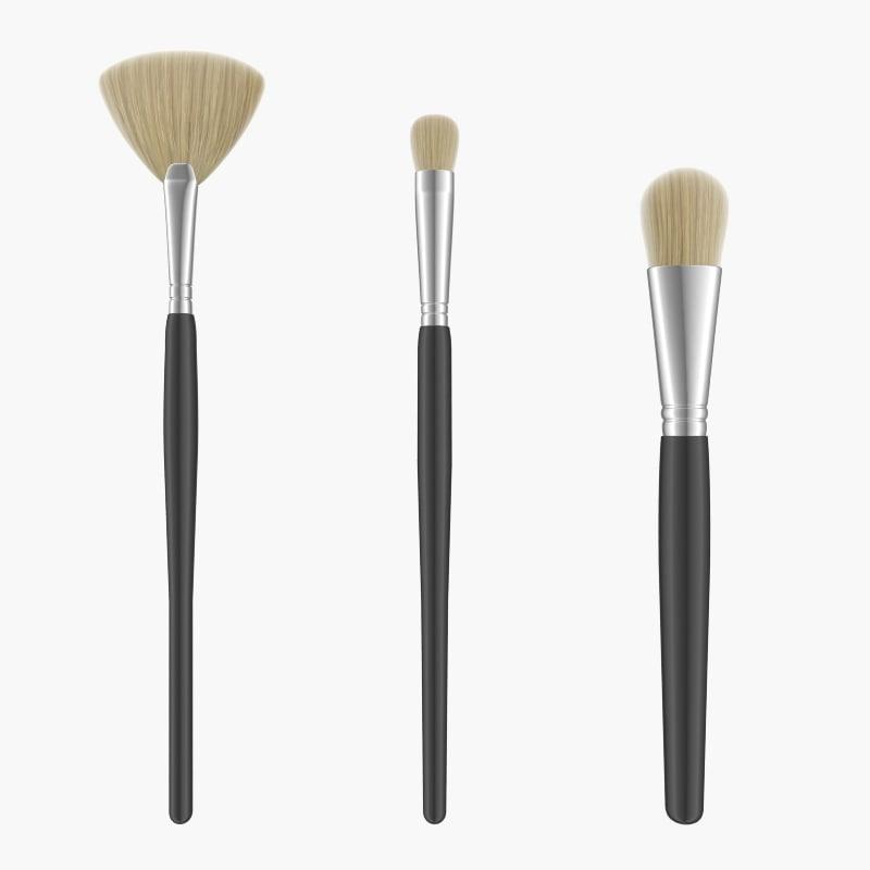 brush make makeup 3d 3ds