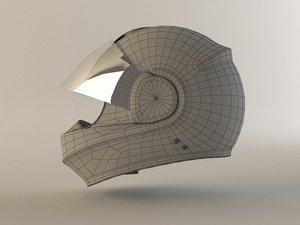 3d helmet 15 model
