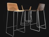 3d model mut-bar-stool