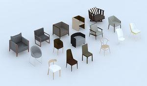 maya hd modern chairs