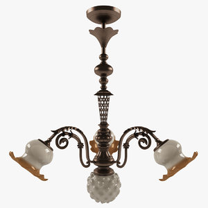 3dsmax vintage chandelier