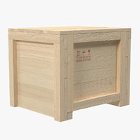 Wooden Shipping Crate 3