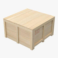 Wooden Shipping Crate 2