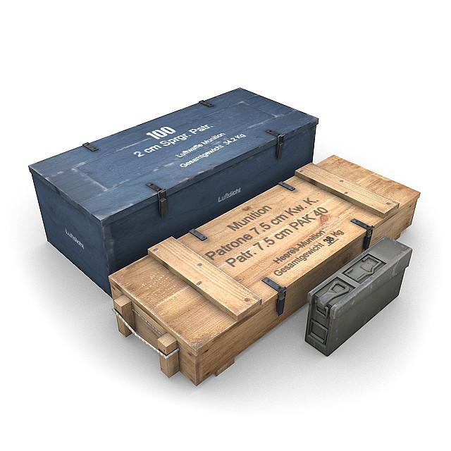 german crates 3d max