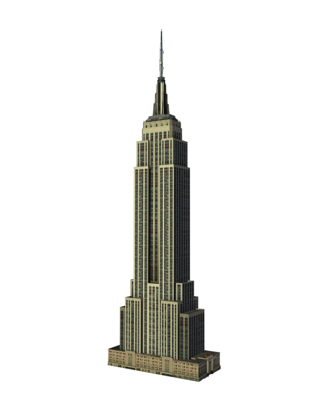 empire state building skyscraper 3ds