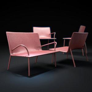 lys-p-lys-wp-chair 3d model