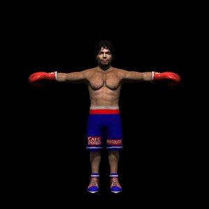 box boxer 3d model