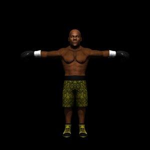 box boxer weather 3d model