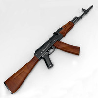 AK74 Assault Rifle