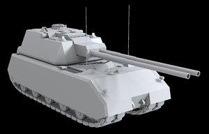 german tanks maus 3d model