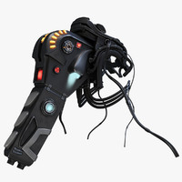 jetpack pbr marmoset 3d model