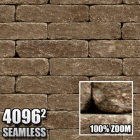 4096 Seamless Brick Texture