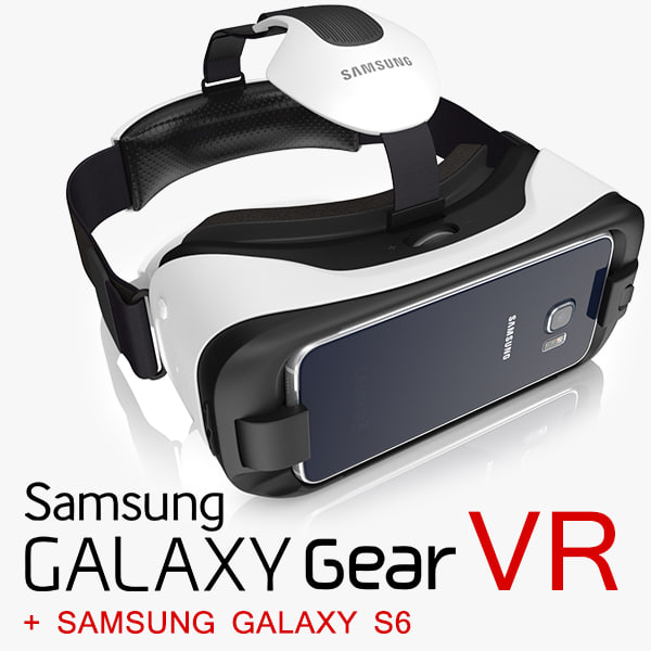 3dsmax samsung galaxy gear vr