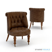 sophie slipper armchair 3d max