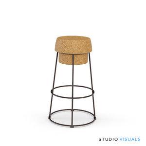backless bar stool max