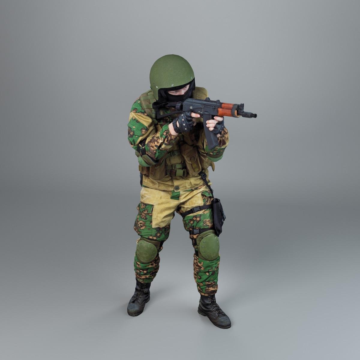 male military 3d model