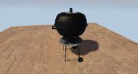 3dsmax kettle bbq