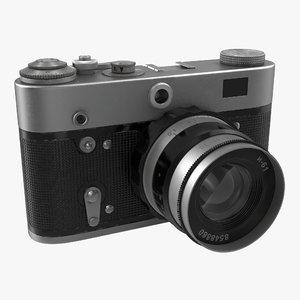 3ds max vintage film camera