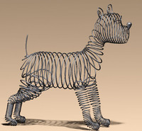 maya wired dog