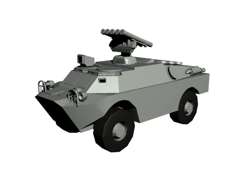 soviet brdm 3d 3ds