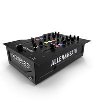 dj mixer allen heath 3d max