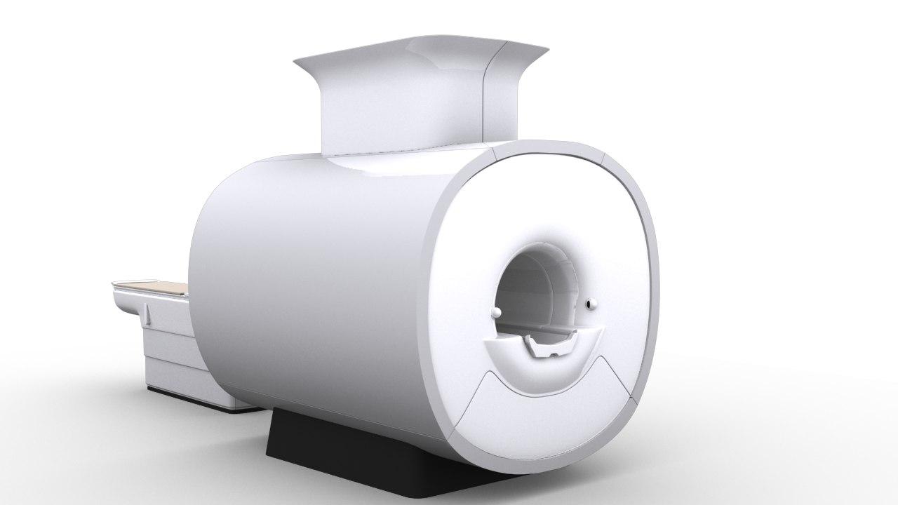3d model of mri machine
