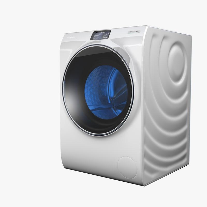 ww10h9600ew ww9000 3d model