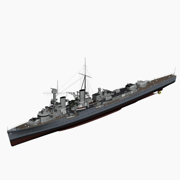 max light cruiser koenigsberg ww2 german