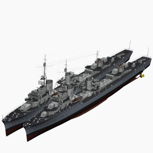 max destroyer 1936 ww2 german