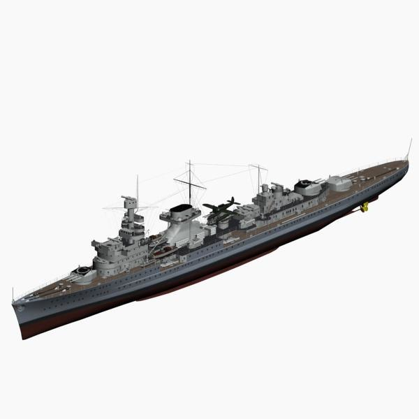 light cruiser nuernberg ww2 german max