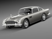 Aston Martin DB5 1963 hi-detail