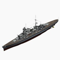Heavy Cruiser Prinz Eugen German Navy WW2