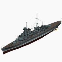 3ds max heavy cruiser tallinn ww2