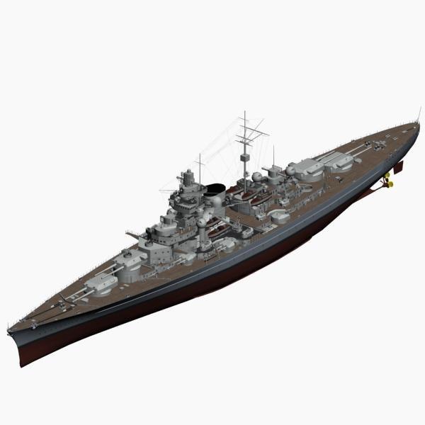 max battleship tirpitz ww2 german