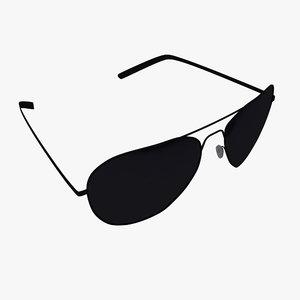 3ds max sunglasses sun