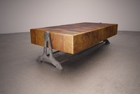 Reclaimed Table Industrial