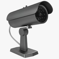 Security Camera 2 3D Model