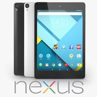 3d google nexus 9
