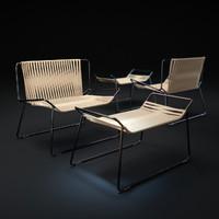 line-sillon-tejido-armchair max