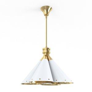 3d madeline suspension lamp model